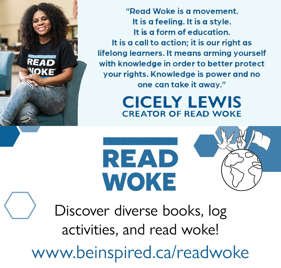 Picture of Cicely Lewis - creator of read woke. Discover diverse books, log activities and read woke!